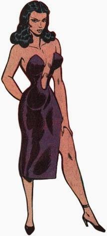 Dibujo de Lady Loto-Marvel