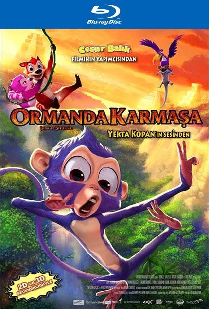 Ormanda Karmaşa - Jungle Shuffle - bluray poster