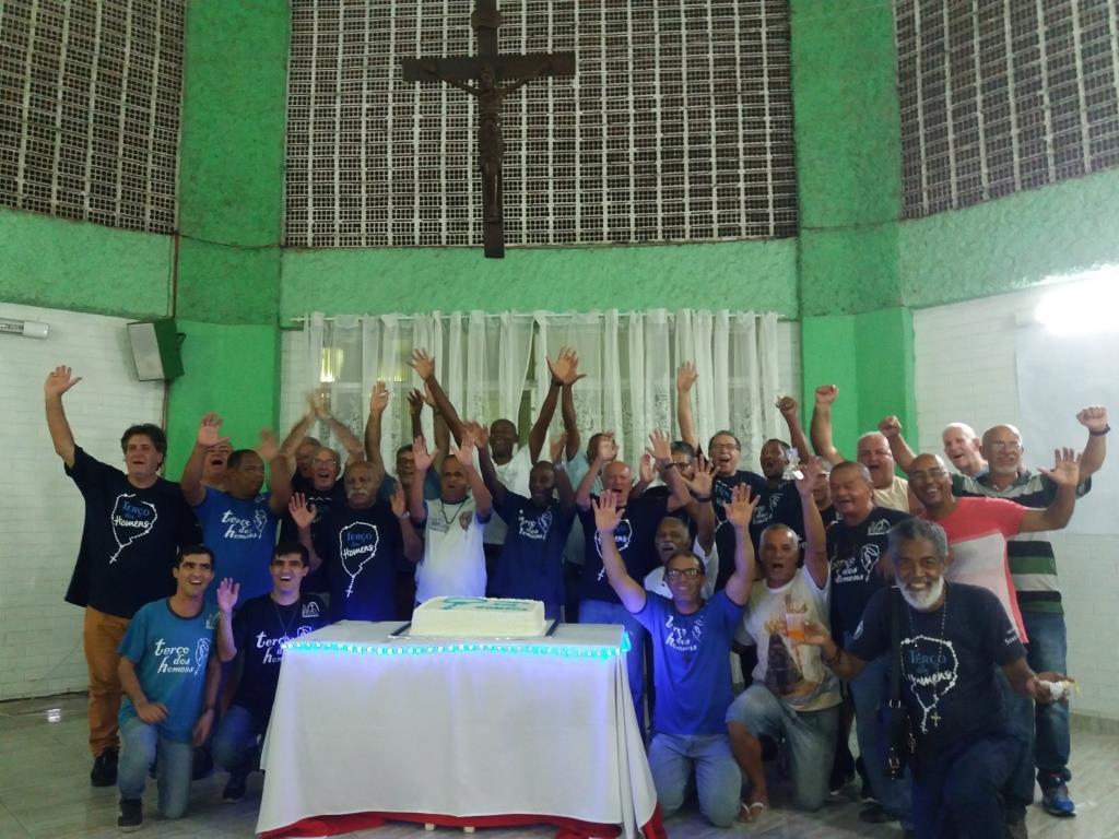 CONFRATERNIZAÇÃO ANUAL DO TERÇO DOS HOMENS DA PNSC-STA.CRUZ - 15/12/2018