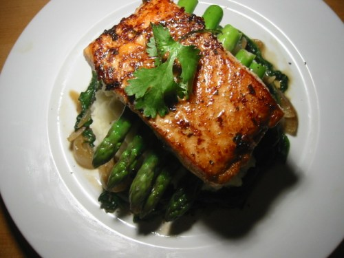 Guest Post: Foil Cooked Salmon and Asparagus or Choice of Vegetables ...