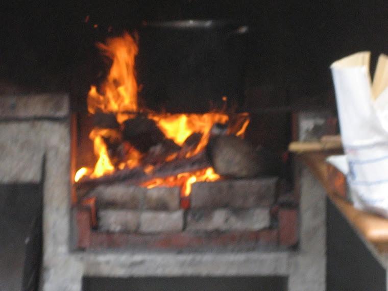 A panela ao lume