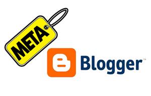 Cara pasang meta tag terbaik blogspot