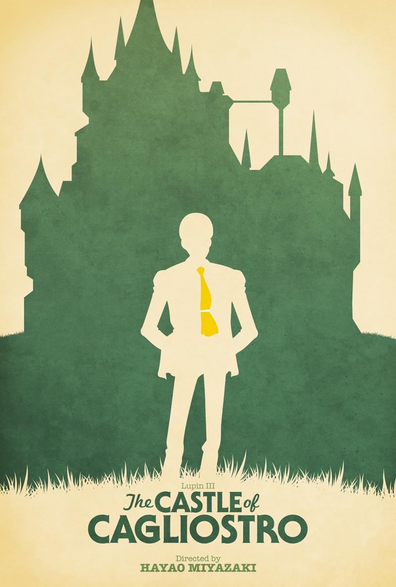Fan póster: El castillo de Cagliostro (1979)