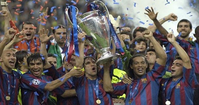 Champions League 2006 -París-