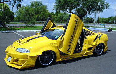 The World Sports Cars Mitsubishi Eclipse Modified
