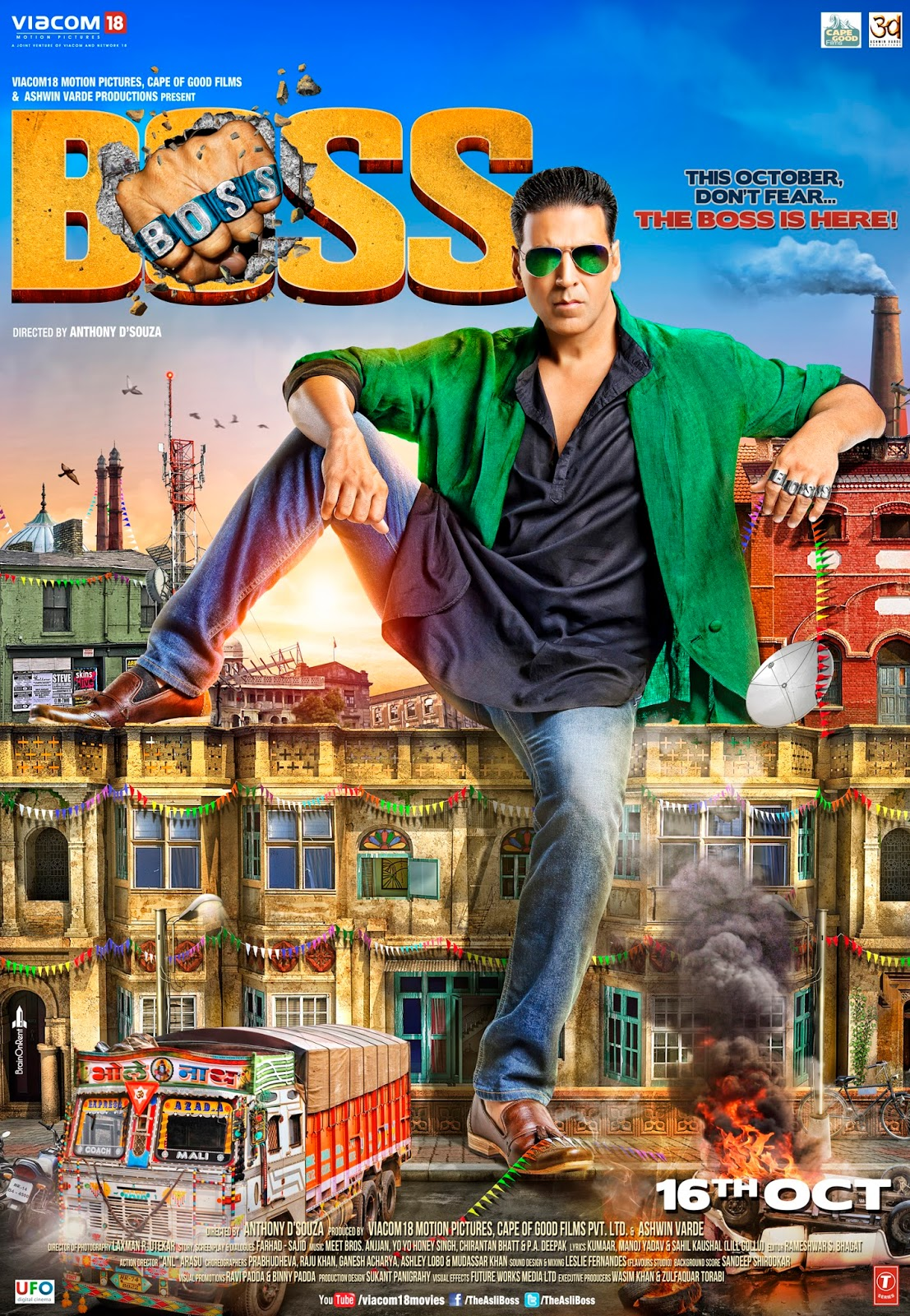 Free Download Boss Movie Wallpapers Full Hd Free Download Wallpaper