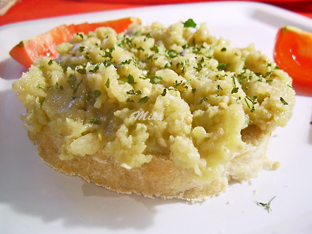 Salata de vinete cu usturoi