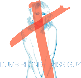 Miss Guy (Toilet Boys Vox) - 'Dumb Blonde' CD EP Review
