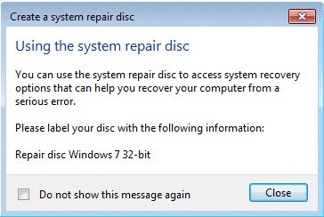 windows 7 64 bit repair disc