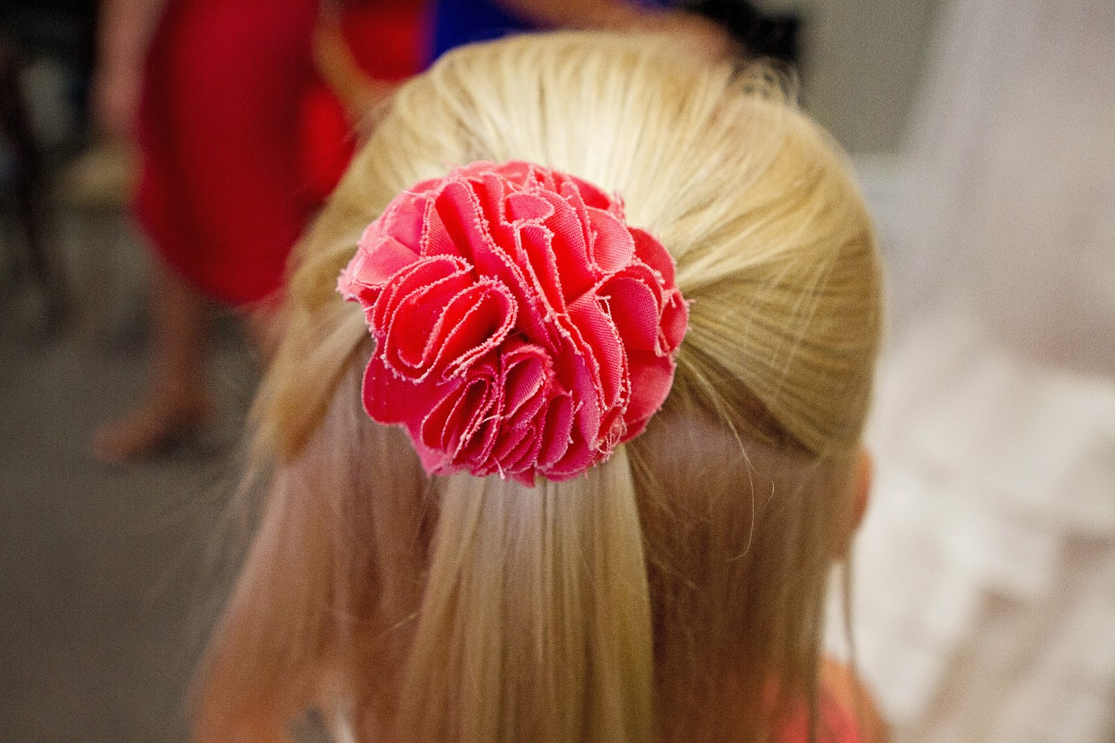 BonnieProjects Flower Girl Hair Bows