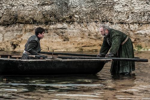 Gendry y Davos 3x10 - Juego de Tronos en los siete reinos