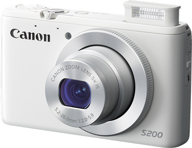 Canon PowerShot S200 Camera User's Manual