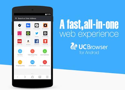 Aplikasi Browser Terbaik - UC Browser Mini Android