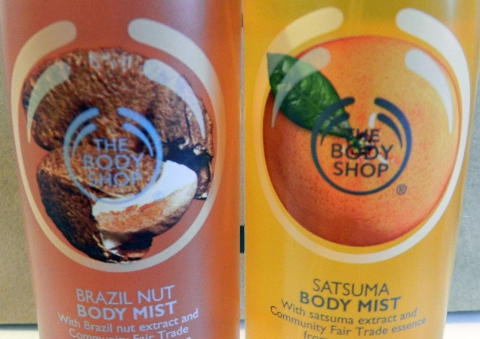 Body Shop Body Mist