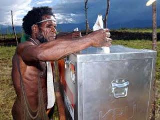 Hari Ini, Pilkada Papua 29 Januari 2013