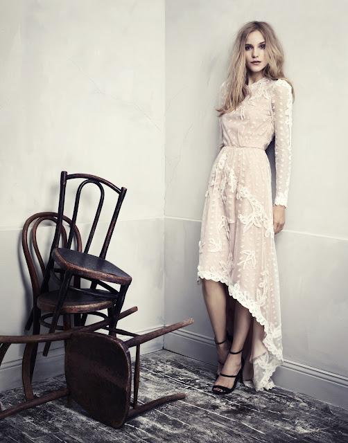 Fashion Junkies loves H&M Conscious Exclusive lace dress