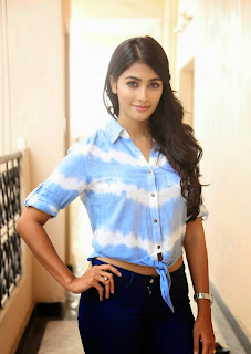 Actress Pooja Hegde Latest Picture Gallery in Blue Jeans  24