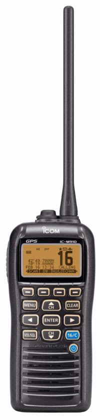 IC M91DHandheld VHF With DSC