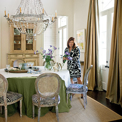 Trove interiors southern style for Southern dining room