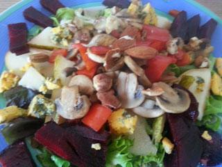 post holiday salad