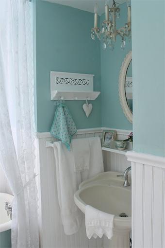 decoracao banheiro retro : decoracao banheiro retro:Decoração vintage para o banheiro pequeno – Casinha Arrumada