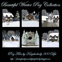 PNG Tubes, Winter PNG, Fantasy backgrounds, Digital scrapbooking embellishments