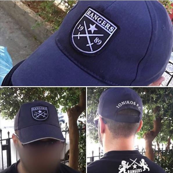 Τα νέα καπέλα των Rangers
