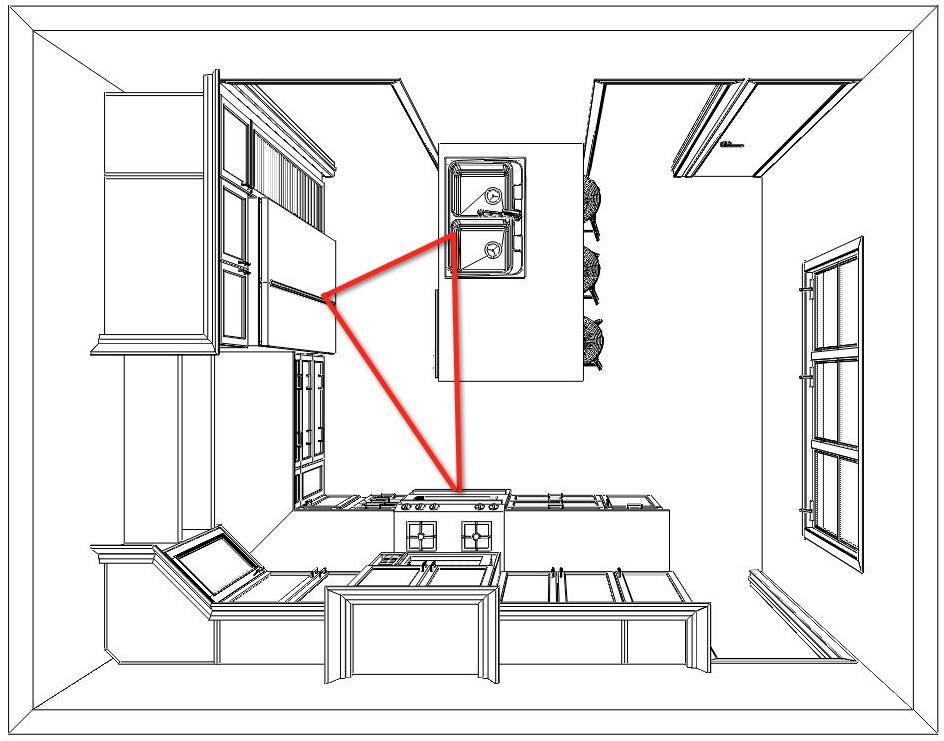 kitchen 101  how to design a kitchen layout that works
