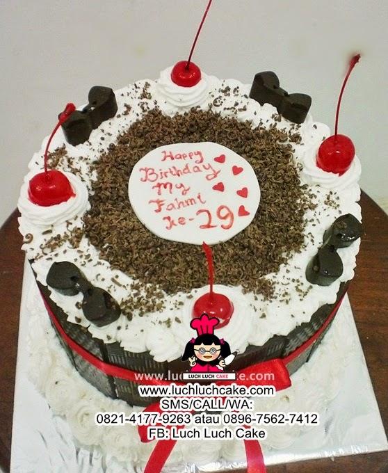 Blackforest Cake Daerah Surabaya - Sidoarjo