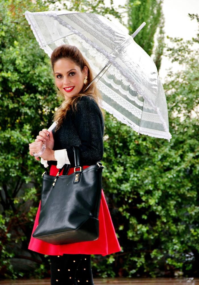 בלוג אופנה Vered'Style גשם סטייל
