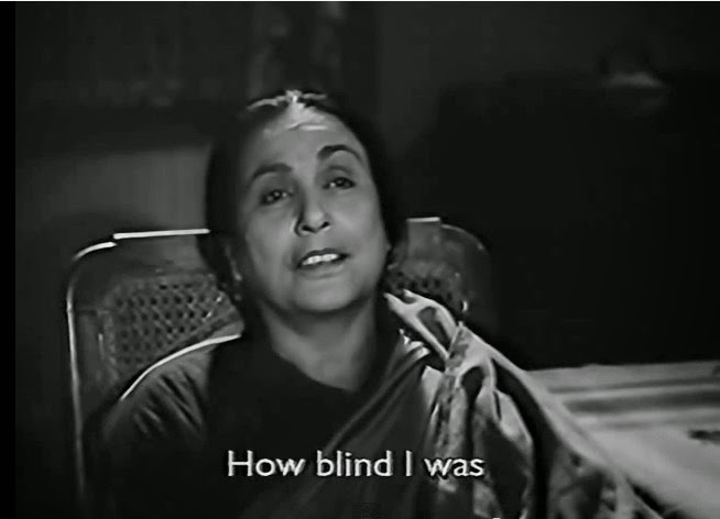 How blind I was
