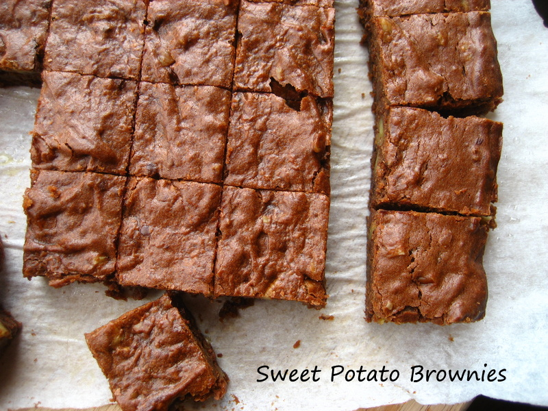Home Cooking In Montana: Sweet Potato Brownies... Sweet#10