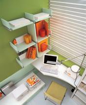 Rack, Corner Desk, Image