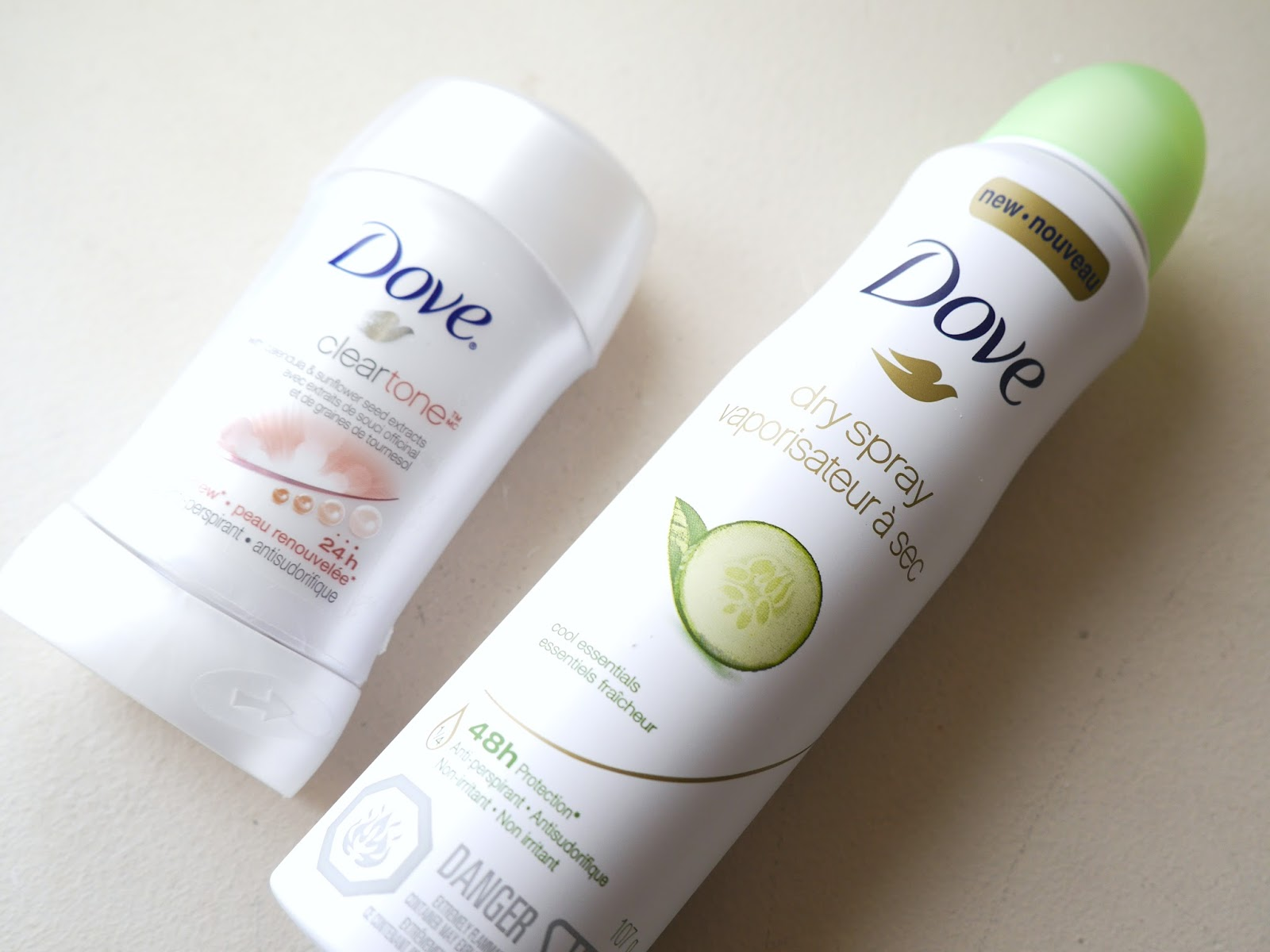 Dove dry spray deodorant review