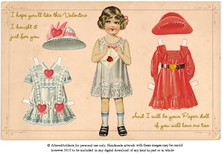 dollie Free Vintage Valentines Clip Art and Printables Roundup!
