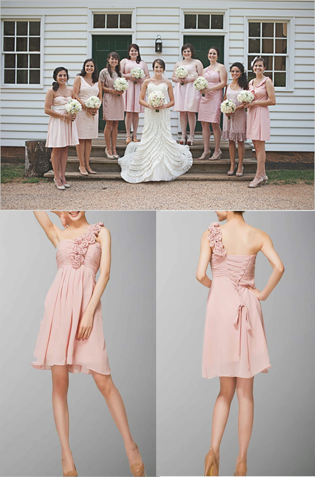 Prom Dress Best Shabby Chic Wedding Inspirations