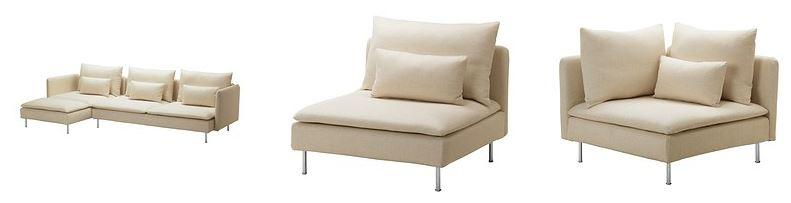 Arredo a modo mio soderhamn di ikea il divano pratico e - Ikea divano manstad ...