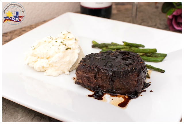 Pinay In Texas Cooking Corner: Pepper Crusted Filet Mignon ...