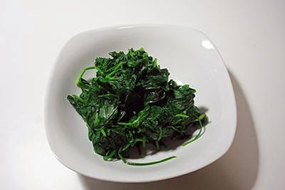 Vellutata di spinaci 7