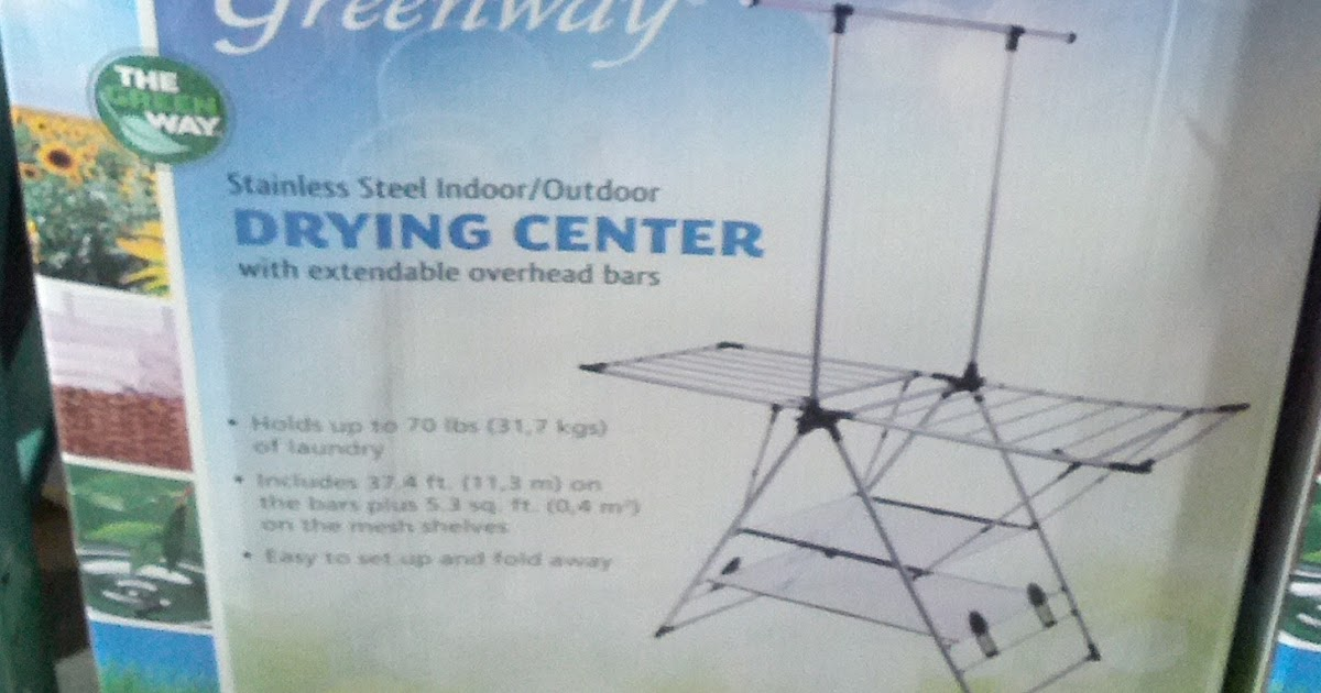Greenway Stainless Steel Indoor Outdoor Drying Center With