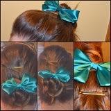 peinados con moña