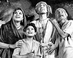 Do Bigha Zameen (1953), Directed by Bimal Roy, starring Balraj Sahni and Nirupa Roy