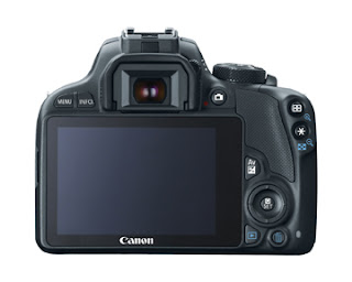 Canon Rebel EOS SL1 touch screen.
