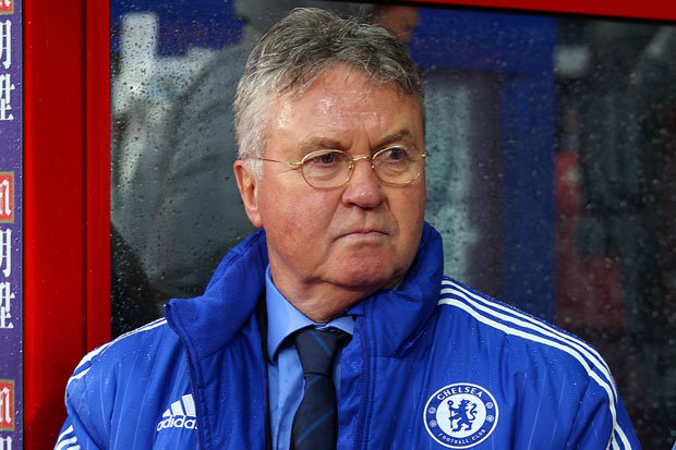 THE BOSS: Hiddink is backing Guardiola to take over from him