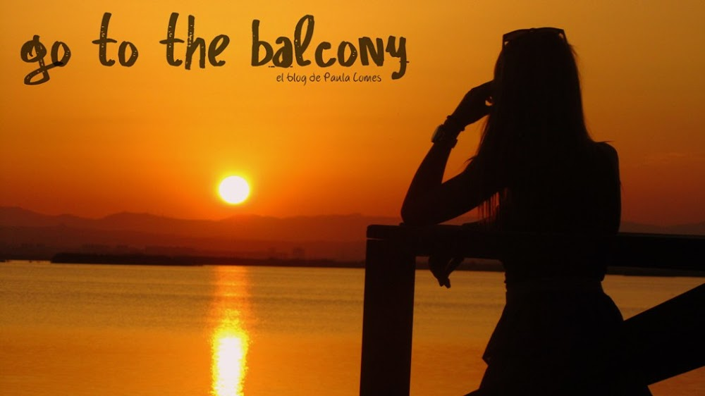 Go to the balcony