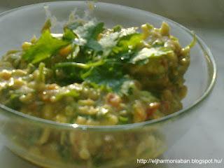 mexikói szósz, avokadó szósz, avokádó recept, quacamole recept