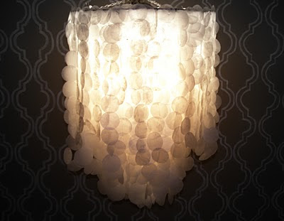 Enrich The Interior design Of your house By making use of Capiz Hanging Lighting  , Home Interior Design Ideas , http://homeinteriordesignideas1.blogspot.com/