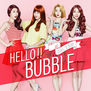 Girl's Day Hello Bubble Cover