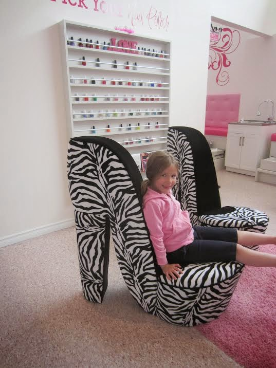 Glama Gal Tween Spa high heel chairs