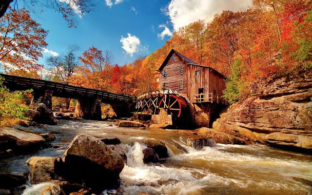 Colors of Autumn Hut